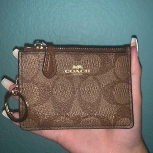 Coach Mini ID Skinny Case